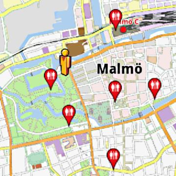 Malm Amenities Offline Map AmeniMaps