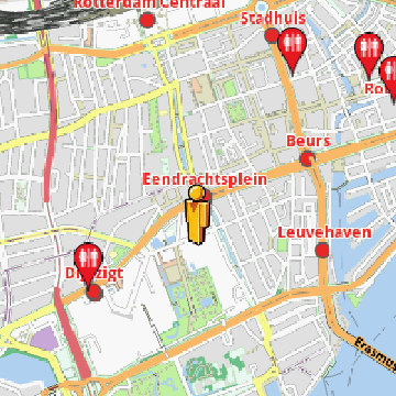 Rotterdam Amenities Offline Map | AmeniMaps